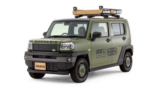Usai Suzuki Jimny, Little D dan 80s Garap untuk Daihatsu Taft