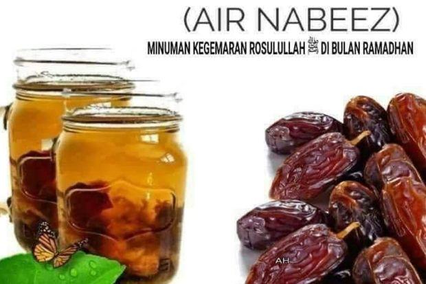 Inilah Minuman Favorit Rasulullah, Cocok Dikonsumsi di Bulan Ramadhan