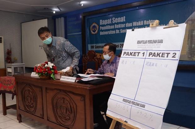 Sah! Adik Bungsu Mahfud MD Menang Telak di Pilrek Unitomo Surabaya