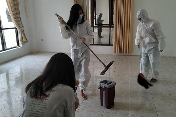 Puluhan Remaja Katolik Geruduk Islamic Center Ciamis, Bersihkan Ruang Isolasi COVID-19