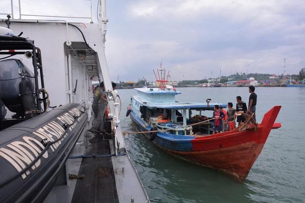 8 Nelayan Indonesia Ditangkap Tentara Laut Diraja Malaysia, Bakamala Datang Menjemput