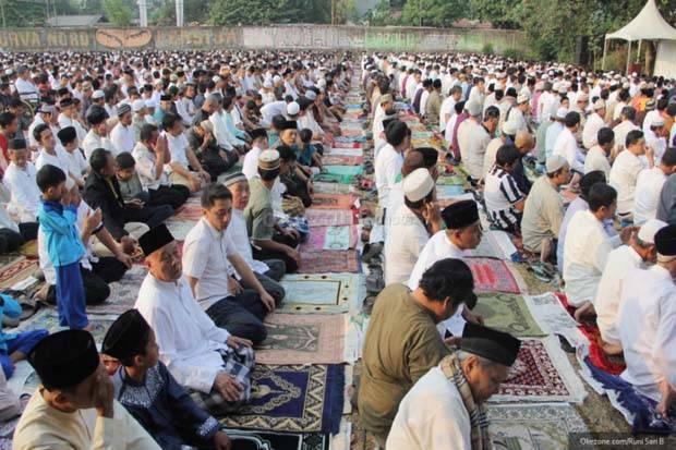 Niat Sholat Idul Fitri dan Tata Caranya