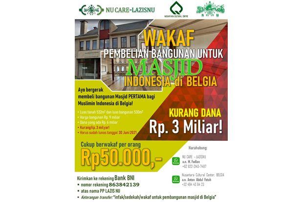 Muslim Indonesia di Belgia Galang Donasi untuk Pembangunan Masjid di Brussels