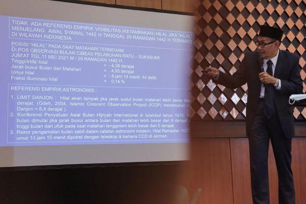 Kemenag: Tidak Ada Referensi Hilal 1 Syawal 1442 H Teramati di Indonesia