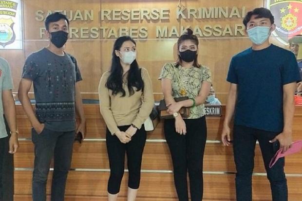 2 Selebgram di Makassar Ditangkap usai Mengeroyok Seseorang Wanita Cantik
