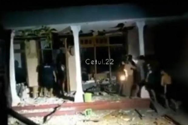 Ledakan Mercon di Malam Takbiran Hancurkan Rumah di Kediri, 1 Tewas