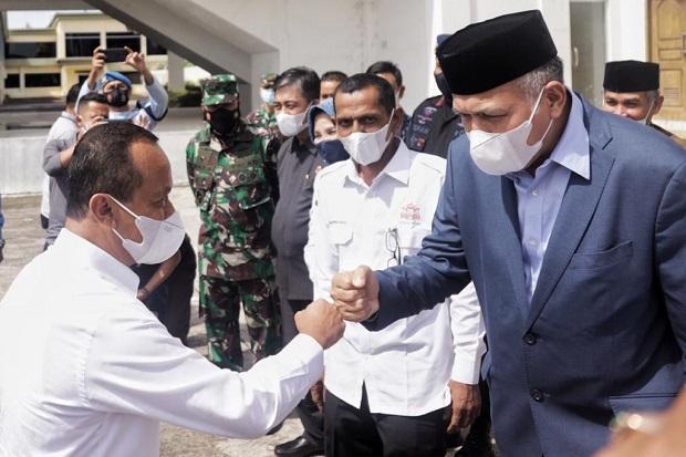 Gubernur Aceh Jemput Kedatangan Menteri Investasi