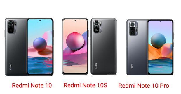 7 PerbedaanXiaomi Redmi Note 10, Redmi Note 10S, dan Redmi Note 10 Pro