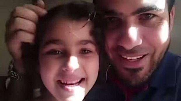Dihujani Roket, Video Ayah Minta ke Anak Jangan Takut pada Israel Viral