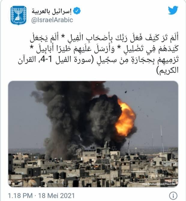 Surat Al-Fil dan Siasat Licik Israel Menghancurkan Palestina