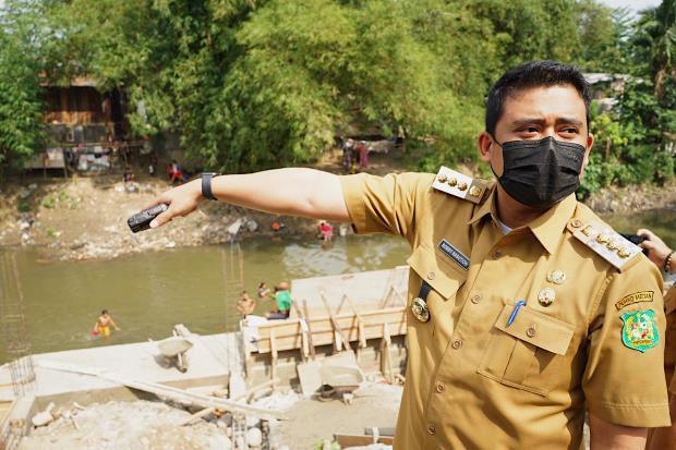 Dipimpin Bobby Nasution, Sungai di Medan Dibenahi Total