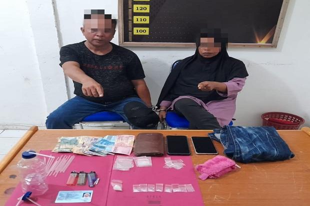 Parah, Suami Istri di Kampar Ini Kompak Berduet Jualan Narkoba
