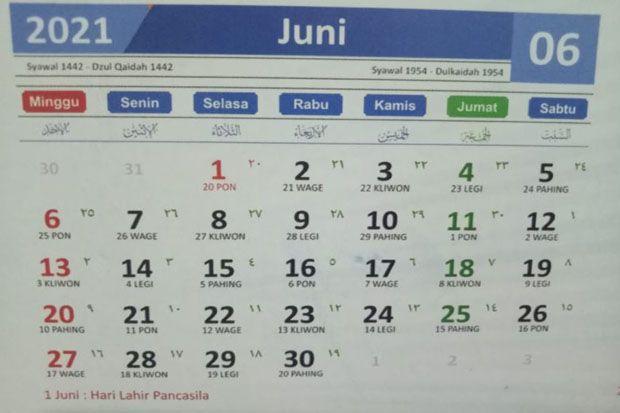 Jadwal Puasa Sunnah Bulan Juni 2021 Berikut Lafaz Niatnya