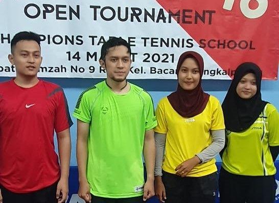 Dua Atlet Tenis Meja Belitung Timur Wakili Provinsi di Turnamen Nasional