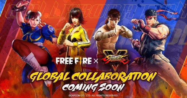 Keren, Chun Li dan Ryu dari Street Fighter Bisa Dimainkan di Free Fire Mulai Juli 2021