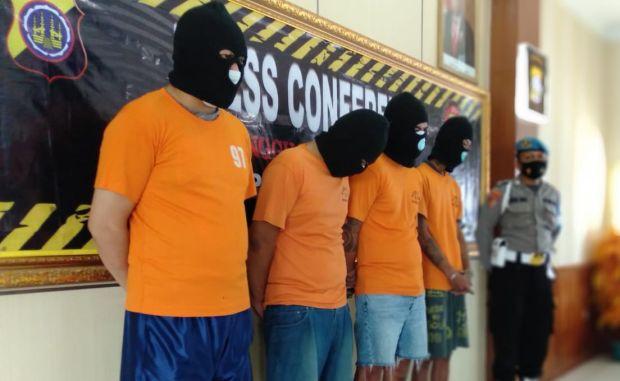 4 Kurir Sabu Diringkus di Sleman, Satu Tersangka Diduga Oknum Polisi