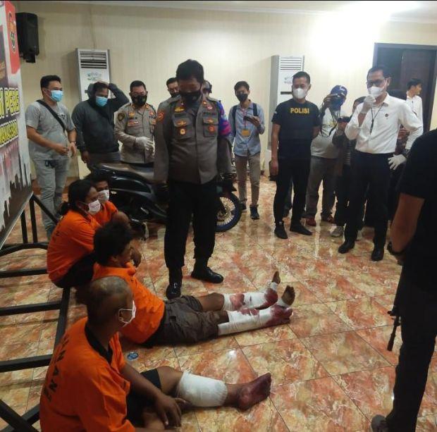 Perampok dan Pemerkosa Mahasiswi Cantik di Kamar Kos Akhirnya Ditangkap, 2 Pelaku Ditembak