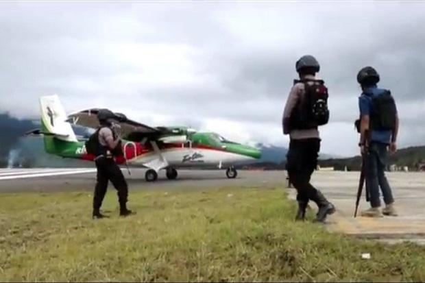 Situasi Ilaga Berangsur Kondusif, Pasukan TNI-Polri Bersenjata Lengkap Masih Bersiaga