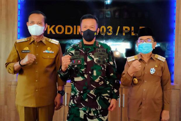 Bupati Luwu Siapkan Lahan untuk Kantor Kodim di Lebani