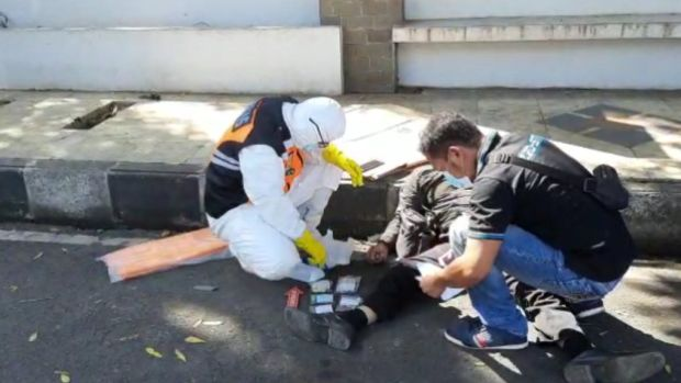 Tasikmalaya Gempar, Pemotor Mendadak Tewas Tekapar di Aspal