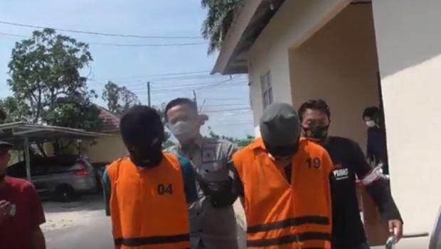 Terciduk Polisi Hendak Transaksi Narkoba, 2 Pria Ini Tak Berkutik