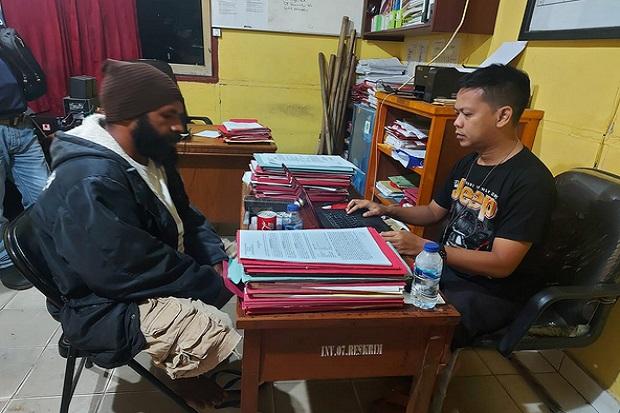 Manuel Metemko Ketua Sayap Politik OPM- KNPB Merauke Ditangkap Satgas Nemangkawi