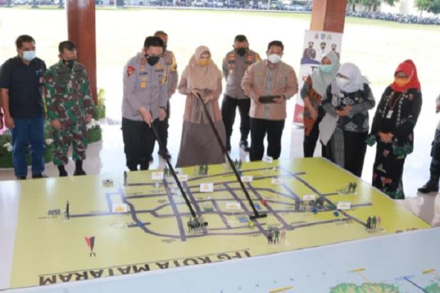 Polda NTB Terapkan Tactical Floor Game Tangani Pandemi COVID-19