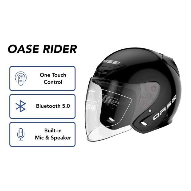 Helm Pintar Berteknologi Canggih Bisa Dihubungkan dengan Smartphone