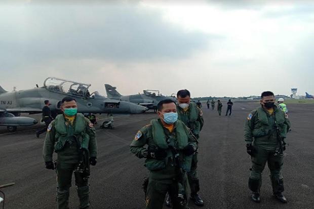 9 Pesawat Tempur TNI Siap Bombardir Tanjung Pandan