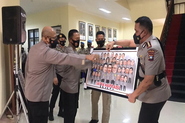 Kapolda Pimpin Sertijab Pejabat Utama Polda Kepri