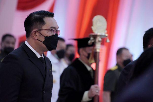 Ridwan Kamil Sebut Orasi Ilmiah Megawati Penuh Nasihat Mencerahkan