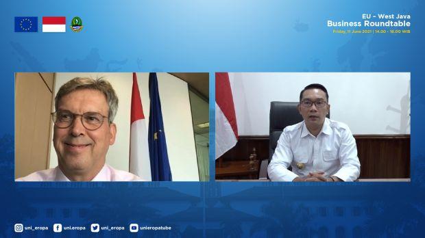 Ridwan Kamil: Jabar Buka Pintu Lebar-lebar untuk Investor Uni Eropa