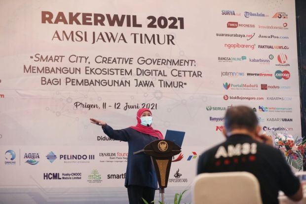 Majukan UMKM Jawa Timur, Gubernur Khofifah Terinspirasi Strategi Jack Ma
