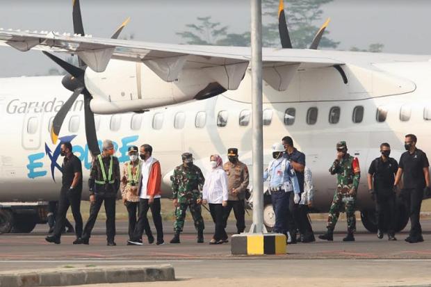 Jokowi Senang Bandara Jenderal Besar Soedirman Beroperasi