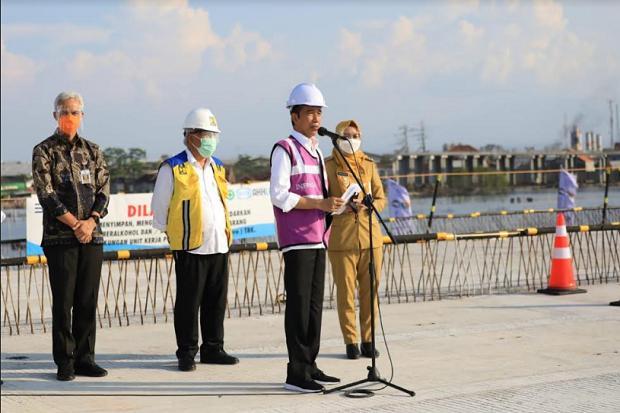Sebut Tol Istimewa, Jokowi Harap Jadi Solusi Macet Semarang-Demak