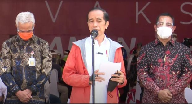 Usai Disuntik Vaksin, Wali Kota Semarang Mengaku Doyan Makan