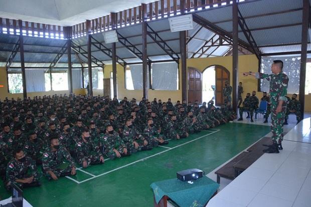 Pasukan Setan Yonif 315/Garuda Siap Jaga Timika dari Teror KKB
