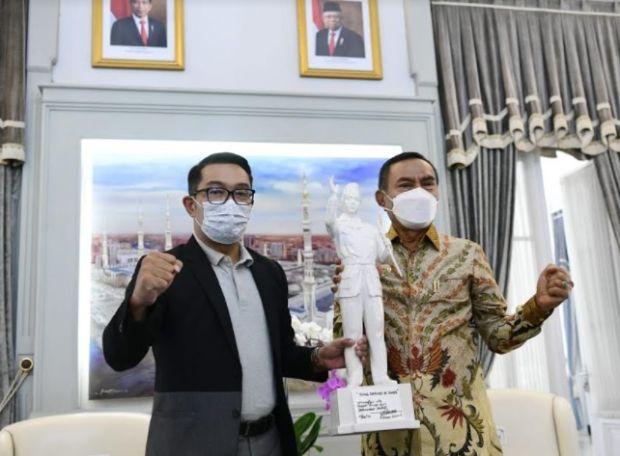 Ridwan Kamil Dukung Pembangunan Patung Bung Karno di NTT, Ini Alasannya