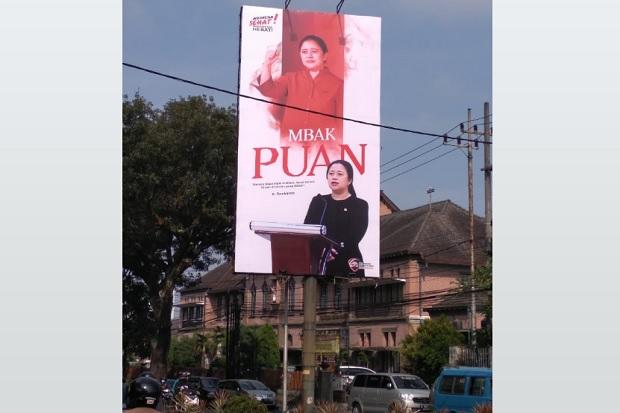 Baliho Mbak Puan Bertebaran di Surabaya, Pengamat: Pemanasan Menuju Pilpres 2024