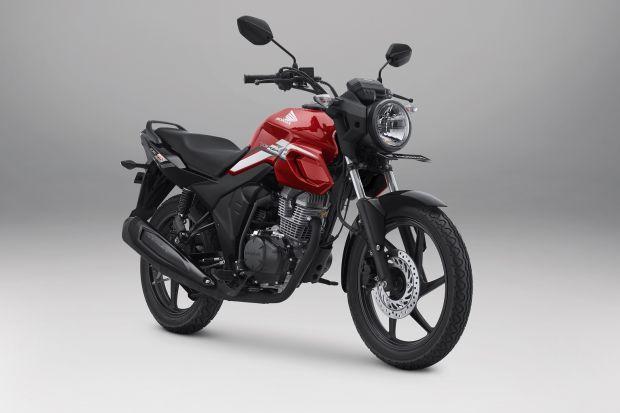 Warna dan Stripe Baru, Honda CB150 Verza Jadi makin Macho