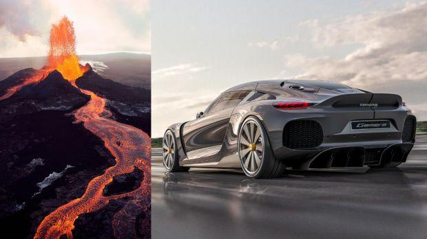 Koenigsegg Kenalkan Supercar Berbahan Bakar Lahar Gunung Berapi