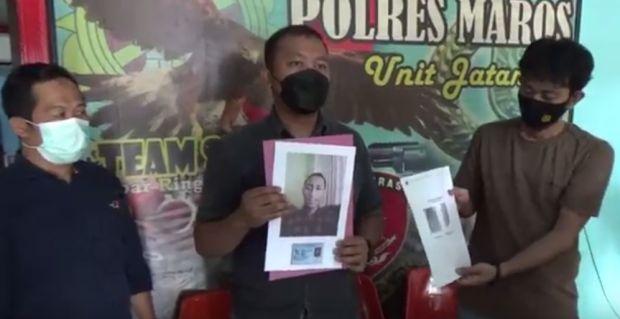 Pelaku Utama Pembunuhan Pria yang Dibakar di Maros Akhirnya Diringkus