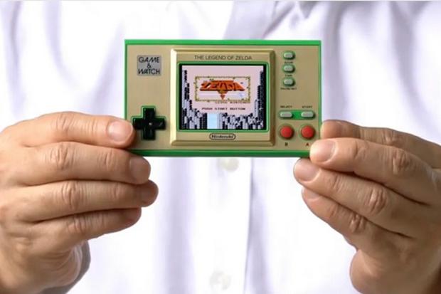 Nintendo Akan Luncurkan Game Watch Jadul Bertema Zelda