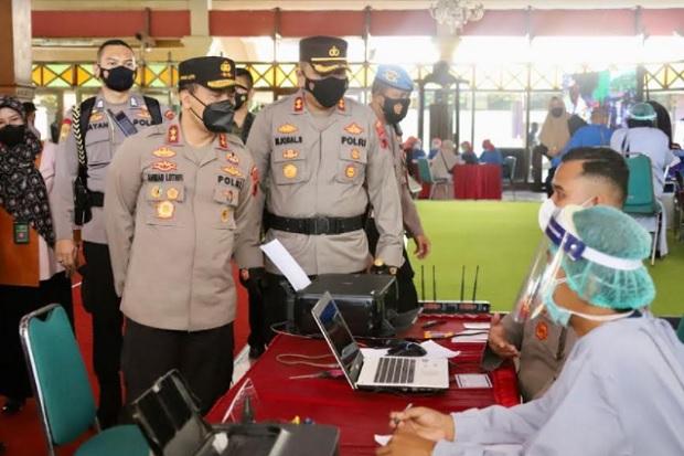 400 Kasus Aktif COVID-19 Terdeteksi di Tegal, Kapolda Jateng Beri Warning
