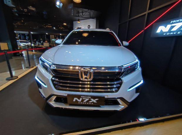Terkuak! Bocoran Harga Honda N7X, Termahal Rp308 Juta Sudah Ada Honda Sensing