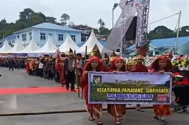 Pesta Budaya Rondang Bittang, Momen Muda Mudi Simalungun Cari Jodoh