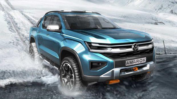 Pelopor Truk Unibody, Volkswagen Amarok Siap Masuk Dapur Produksi