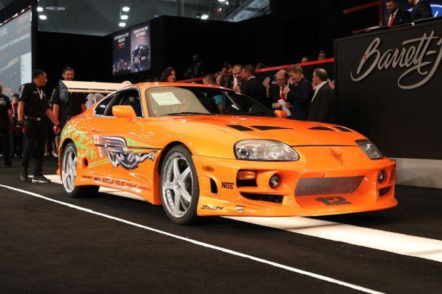 Mobil Toyota Supra Paul Walker di Fast Furious Cetak Rekor Lelang Rp7,8 Miliar