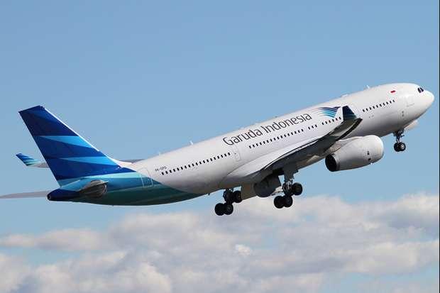 Berdarah-darah, Garuda Tutup Tiga Rute Penerbangan Internasional