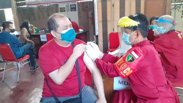 Polres Salatiga Gelar Vaksinasi COVID-19 Massal dengan Sasaran 4.100 Orang
